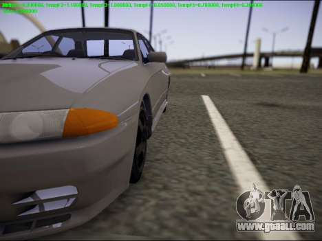 Nissan Skyline R32 for GTA San Andreas right view
