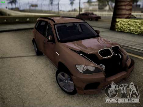 BMW X5M for GTA San Andreas side view