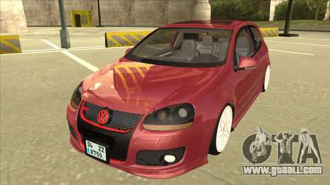 Volkswagen Golf V for GTA San Andreas