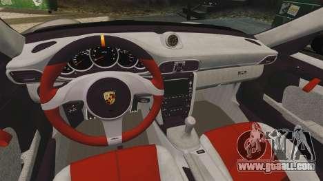 Porsche 997 GT2 2012 Simple version for GTA 4 inner view