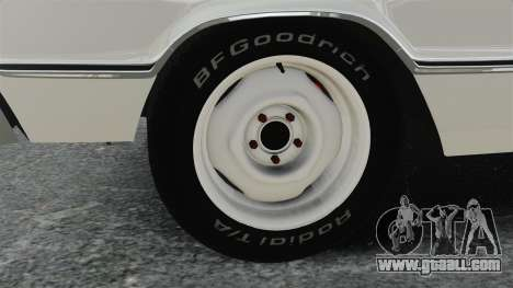 Dodge Coronet 440 1967 for GTA 4 back view