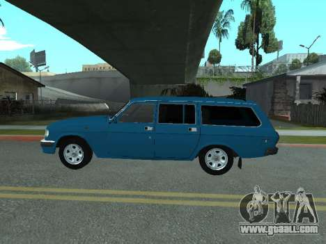 GAS 31022 for GTA San Andreas back left view