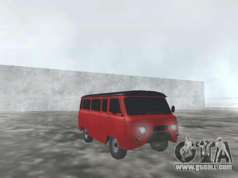 UAZ 22069 for GTA San Andreas inner view