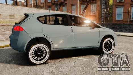 Seat Leon Gtaciyiz for GTA 4 left view