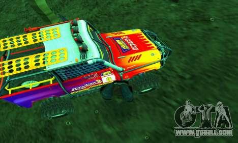 UAZ Hunter Trial for GTA San Andreas interior