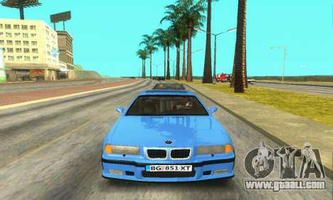 BMW M3 (E36) for GTA San Andreas inner view