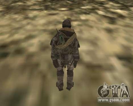 Soap MacTavish for GTA San Andreas second screenshot
