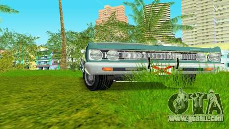 Plymouth Fury III 1969 Coupe for GTA Vice City left view