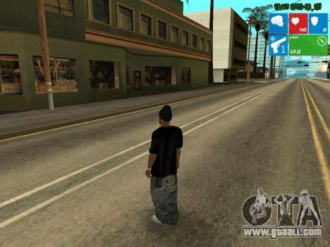 New drug dealer Afro for GTA San Andreas second screenshot