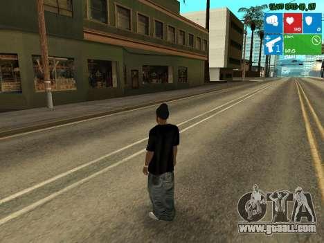 New drug dealer Afro for GTA San Andreas second screenshot