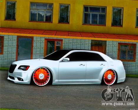 Chrysler 300 c SRT-8 MANSORY_CLUB for GTA San Andreas left view