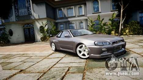 Nissan Skyline GTR-34 v1.0 for GTA 4
