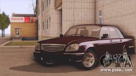GAZ 31105 for GTA San Andreas
