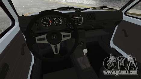 Volkswagen Golf MK1 GTI Rat Style for GTA 4 back view