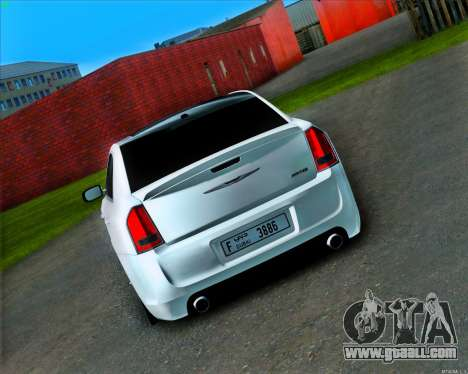 Chrysler 300 c SRT-8 MANSORY_CLUB for GTA San Andreas right view