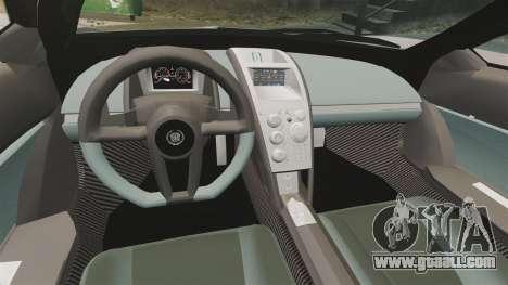Cadillac Cien XV12 [EPM] for GTA 4 inner view
