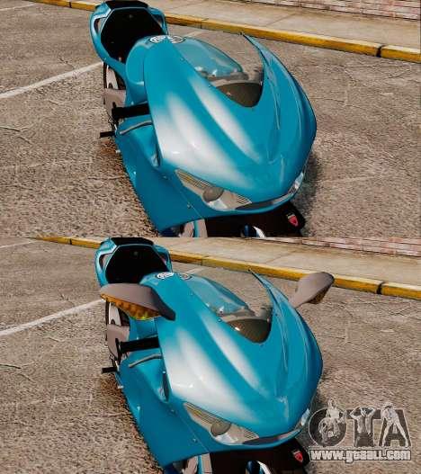 Ducati Desmosedici RR 2012 for GTA 4 back view