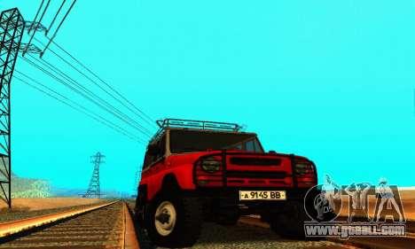 UAZ 31514 6 x 6 for GTA San Andreas
