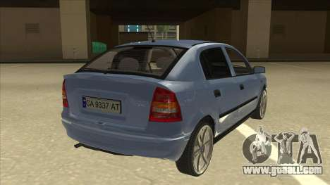 Opel Astra G Stock for GTA San Andreas right view