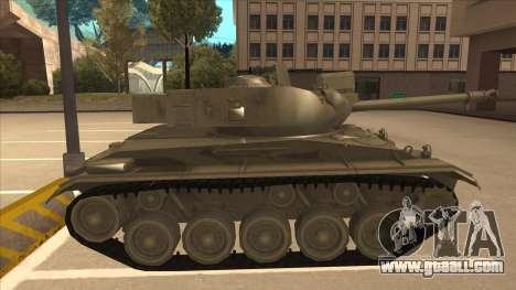 M41A3 Walker Bulldog for GTA San Andreas back left view