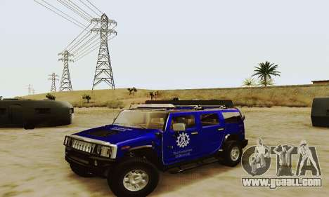 THW Hummer H2 for GTA San Andreas
