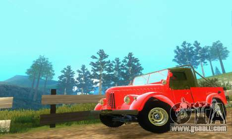 GAZ 69 Pickup for GTA San Andreas