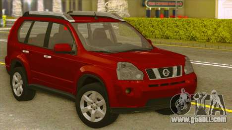 Nissan X-Trail 2009 for GTA San Andreas right view