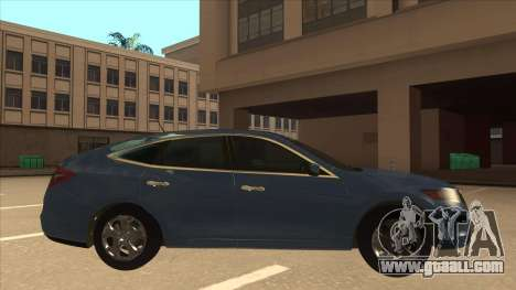 Honda Crosstour 2012 for GTA San Andreas back left view