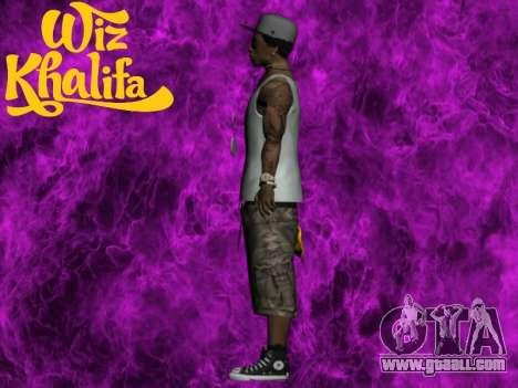 Wiz Khalifa for GTA San Andreas third screenshot