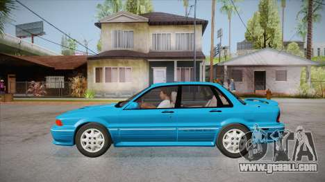 Mitsubishi Galant VR-4 (E39A) 1987 IVF APT for GTA San Andreas left view