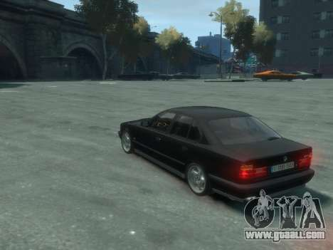 BMW M5 E34 for GTA 4 side view