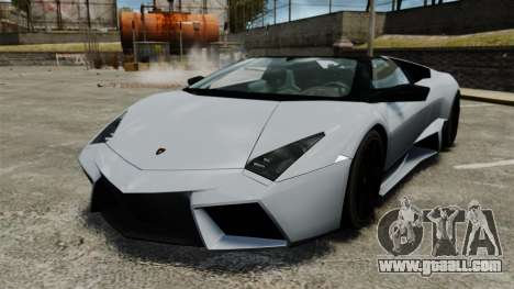Lamborghini Reventon Roadster 2009 for GTA 4