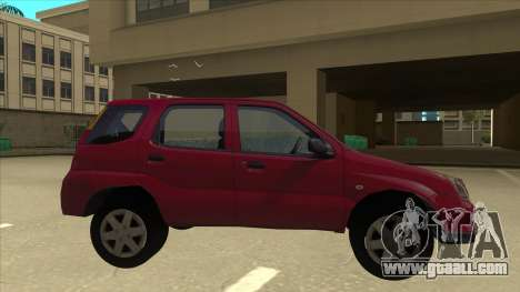 Suzuki Ignis for GTA San Andreas back left view