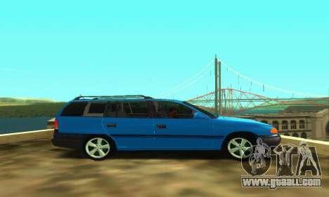 Opel Astra F Caravan for GTA San Andreas right view