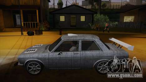 Datsun 510 RB26DETT Black Revel for GTA San Andreas interior