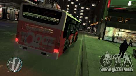 Daewoo BC211MA Baku for GTA 4 back left view