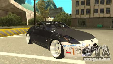 Nissan 350z SimpleDrift for GTA San Andreas left view