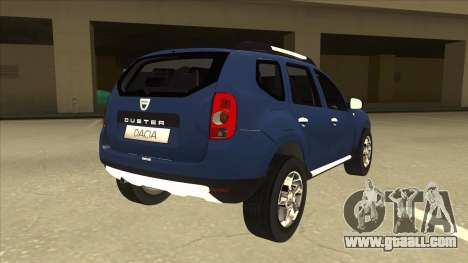 Dacia Duster 2014 for GTA San Andreas right view
