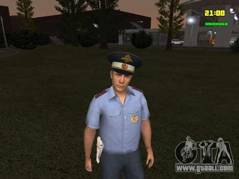DPS Officer for GTA San Andreas