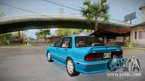 Mitsubishi Galant VR-4 (E39A) 1987 IVF APT for GTA San Andreas back left view
