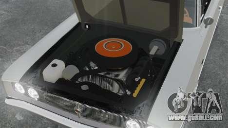 Dodge Coronet 440 1967 for GTA 4 inner view