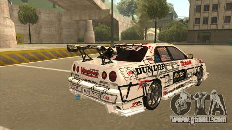 Nissan Skyline ER34 Uras GT Blitz 2009 for GTA San Andreas right view