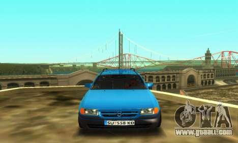Opel Astra F Caravan for GTA San Andreas left view