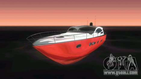 Cartagena Delight Luxury Yacht for GTA Vice City side view