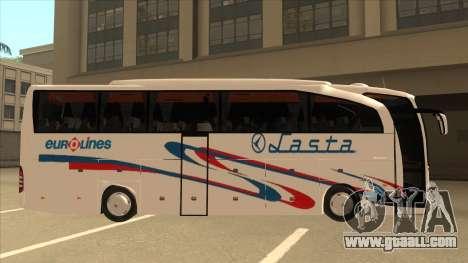 Mercedes-Benz Lasta Bus for GTA San Andreas back left view