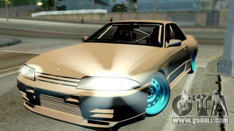 Nissan Skyline R32 Hellaflush for GTA San Andreas