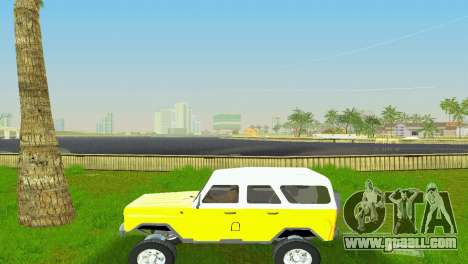 UAZ 3151 for GTA Vice City back view