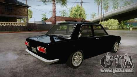 Datsun 510 RB26DETT Black Revel for GTA San Andreas right view
