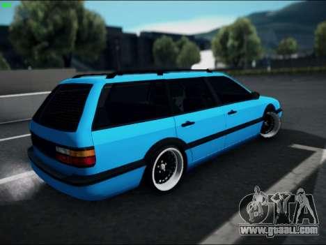 Volkswagen Passat Caravan 1993 Avant Style for GTA San Andreas