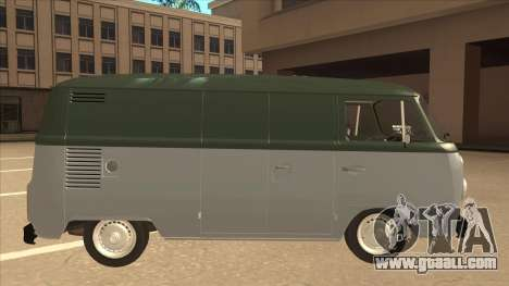 VW T2 Van for GTA San Andreas back left view